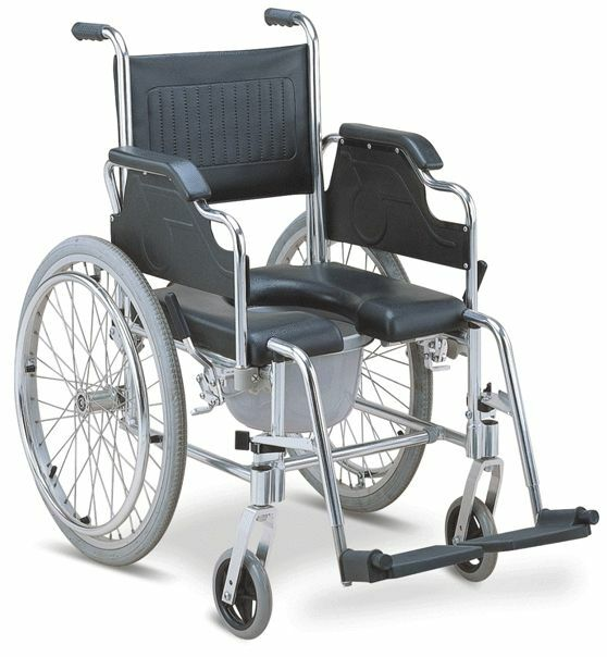handicap shower chairs extra large folding 3-in-1 commode wheelchair bedside toilet & chair rust free aluminum frame | ebay