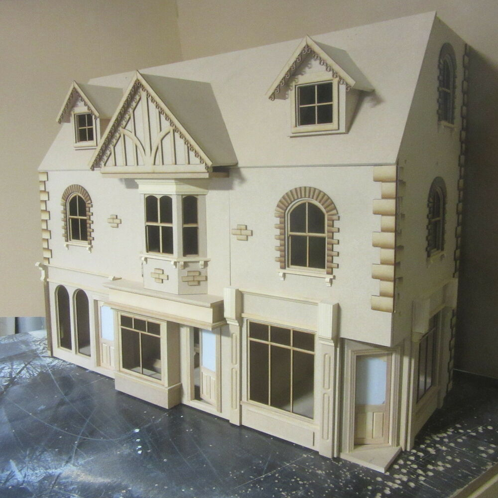Dolls House York St Row Of 3 Shops With 6 Rooms Above 112