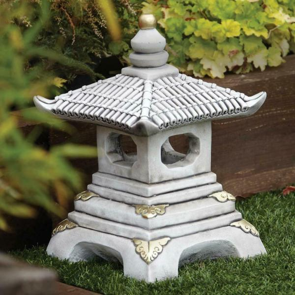 Chinese Garden Ornaments - Tier Japanese Pagoda