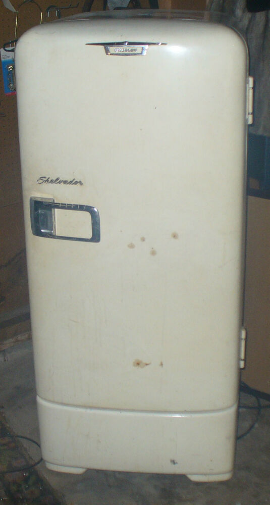 Old 1950s Crosley Shelvador Working Refrigerator EBay