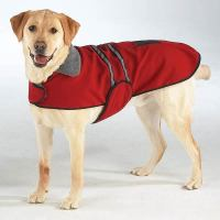 Casual Canine Reflective Fleece warm pet DOG Coat Winter ...