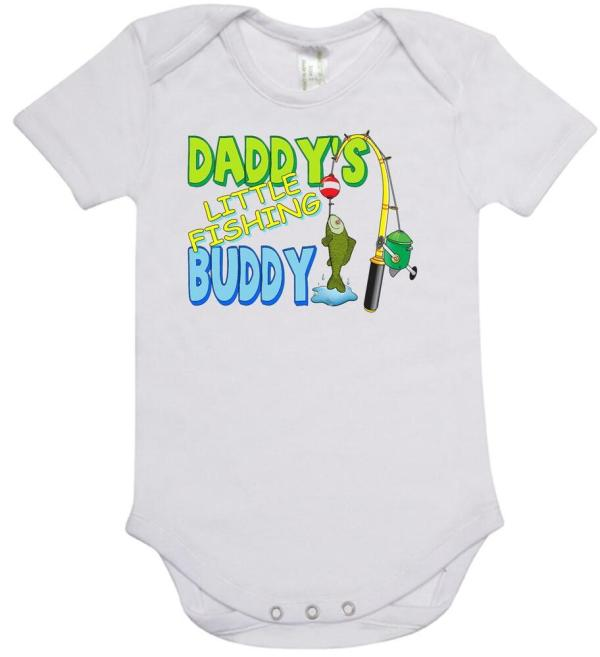Baby Piece Romper. Onesie. Printed With Daddy'