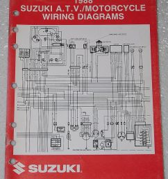 details about 1988 suzuki motorcycle and atv electrical wiring diagrams manual 88 j models [ 819 x 1000 Pixel ]