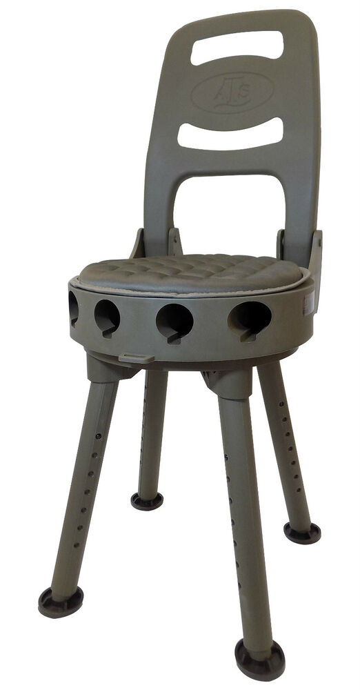 FOLDING SHOOTING SEAT Great swivel chair pigeon shooting