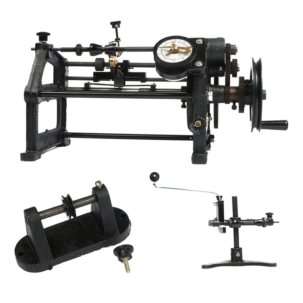 U.S. Solid Hand Coil Winder Manual Automatic Coil Winding