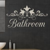 bathroom wall decal - 28 images - relax bathroom quote ...
