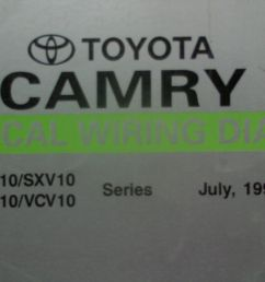 details about 1995 toyota camry electrical wiring diagrams workshop manual [ 1000 x 800 Pixel ]