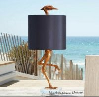"Ibis Table Lamp Heron Crane Bird Whimsical Table Lamp 35""H ..."