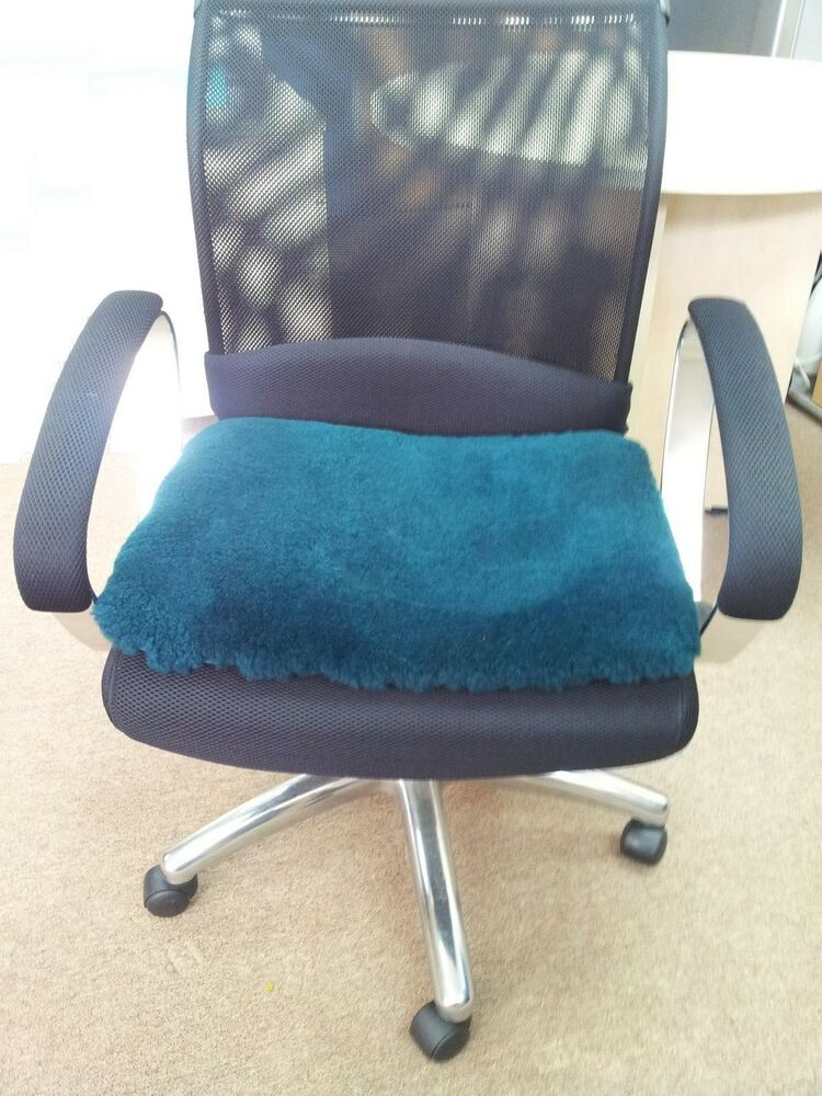 booster seat chair hanging sale natural medical grade sheepskin office cushion driver pad   ebay