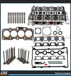 details about bare cylinder head head gasket set bolts 136mm valve kit audi vw 1 8l turbo [ 1000 x 1000 Pixel ]