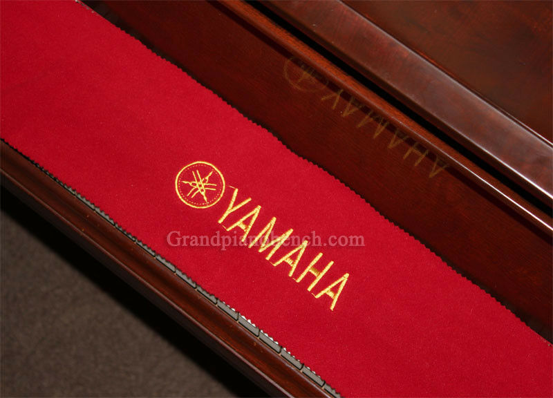 Yamaha Piano Key Cover Red Felt Embroidered Keyboard
