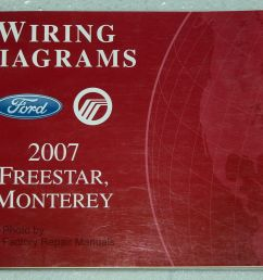 2007 ford freestar mercury monterey electrical wiring diagrams shop manual ebay [ 1000 x 799 Pixel ]
