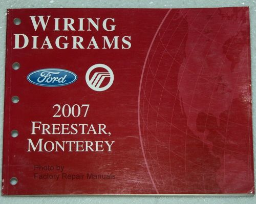 small resolution of 2007 ford freestar mercury monterey electrical wiring diagrams shop manual ebay