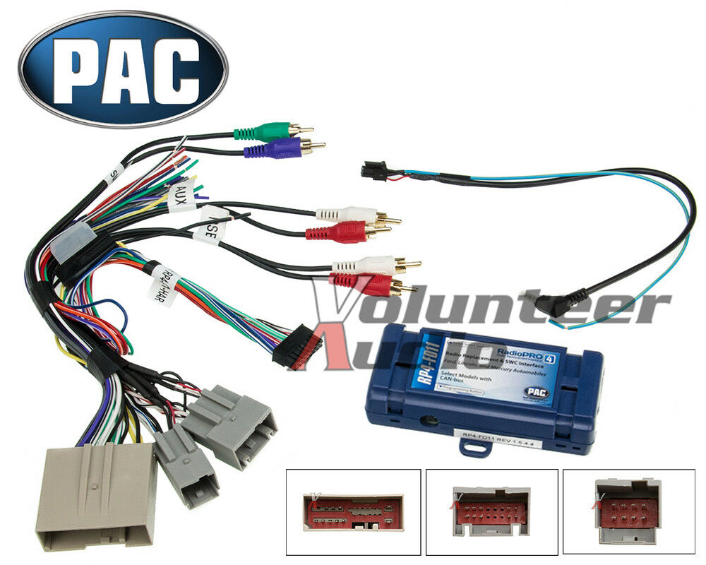 medium resolution of 2006 2012 select ford lincoln mercury radio install stereo wiring harness 2006 porsche boxster stereo wiring