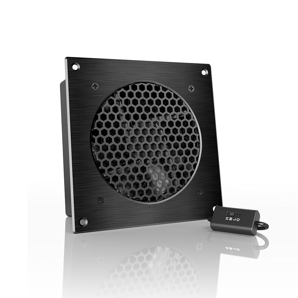 AIRPLATE S3 Quiet Cabinet Fan 6 for Home Theater AV