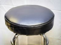 Bar Stool Slip On Seat Cover Vinyl With Foam Padded. Fits ...