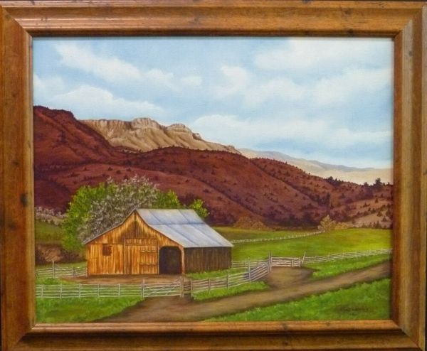 country barn hills original landscape