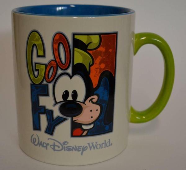 Walt Disney World Goofy Large Coffee Soup Cup Mug