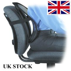 Back Pain Office Chair Cushion Bishops Support Lumbar Relief Car Seat | Ebay