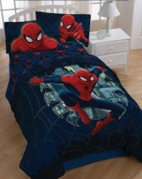 Spiderman quilt Comforter full/queen Marvel Comics bedding ...