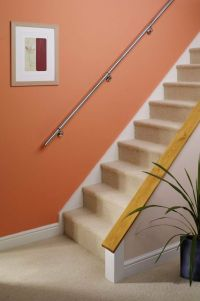 Stairs Staircase Handrail Banister Rail Support Kit 3.6m ...