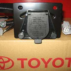 Trailer Hitch Lights Wiring Diagram Cool Paper Plane 2005-2015 Tacoma Tow Wire Harness 7-pin 82169-04010 Genuine Toyota | Ebay