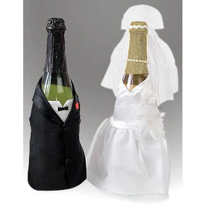 white folding chair covers ebay sashes for wedding bride and groom wine champagne bottle set of 2 by victoria lynn |
