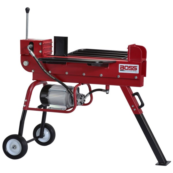 Boss Industrial 10-ton Horizontal Dual-action Electric Log