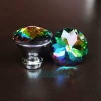 NEW Crystal Glass Drawer Knobs Cabinet Handle Pulls Multi ...