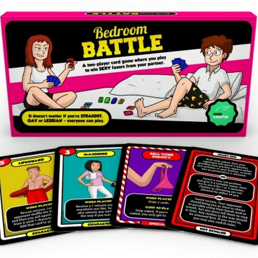 Bedroom Battle Game  Sex Card Game  Adult Couples