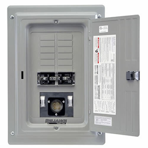 30a Generator Receptacle Wiring Diagram Reliance Controls 100 Amp Indoor Transfer Panel W 30 Amp