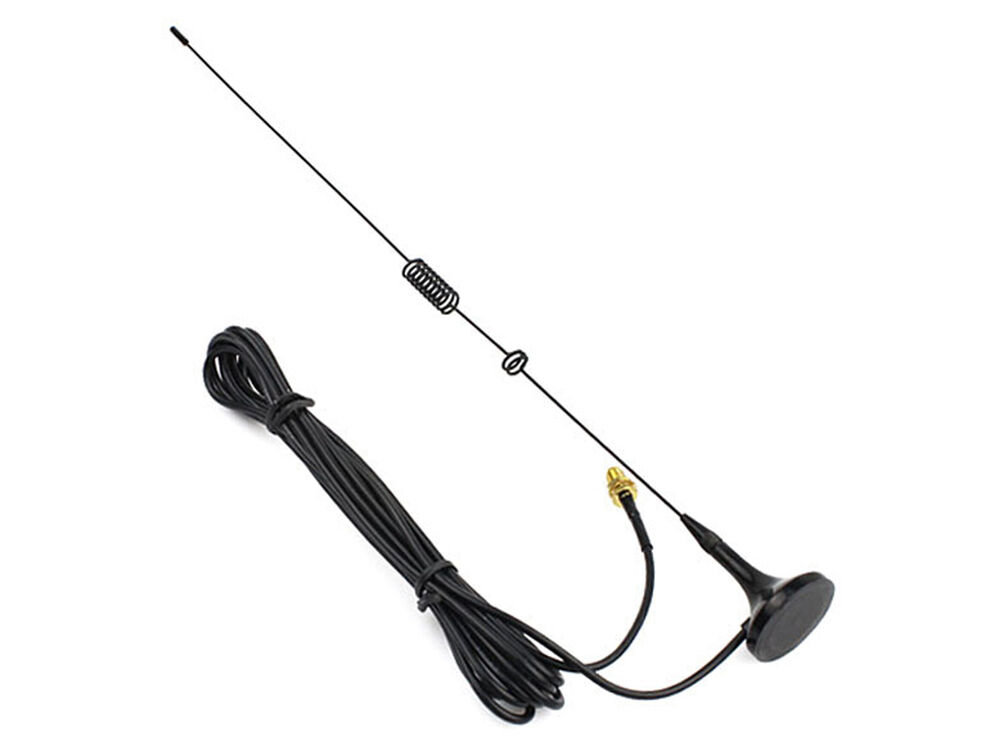 SMA-F UHF VHF Magnetic Vehicle-mounted Antenna for Kenwood