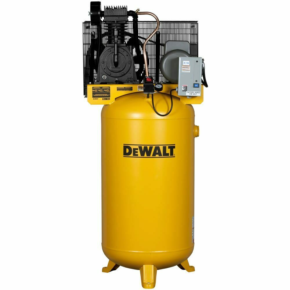 hight resolution of dewalt 5 hp 80 gallon two stage air compressor 240v 1 dewalt 60 gallon air compressor wiring craftsman 60 gallon air compressor wiring diagram