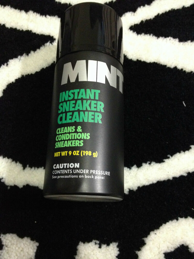 MINT INSTANT SNEAKER CLEANER  CONDITIONER 9 OZ 198G SPRAY SHOE CARES CLEAN  eBay