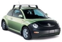 NEW OEM VW NEW BEETLE ROOF RACK BASE CARRIER 1998-2010 ...