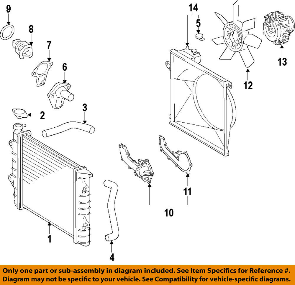 medium resolution of details about toyota oem 05 18 tacoma engine water pump gasket 1632575011