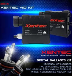details about xentec xenon hid kit conversion dual beam halogen high hid low 9007 hb5 [ 1000 x 1000 Pixel ]