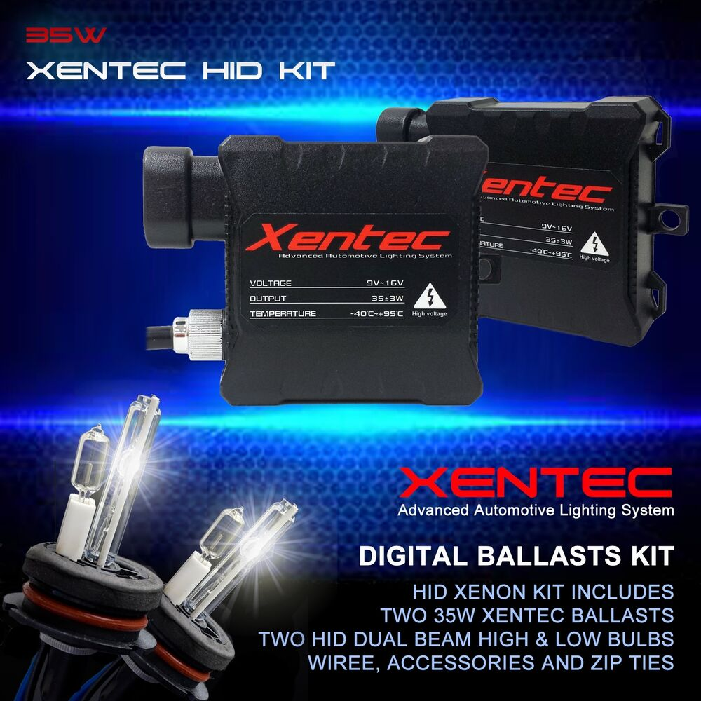 medium resolution of details about xentec xenon hid kit conversion dual beam halogen high hid low 9007 hb5
