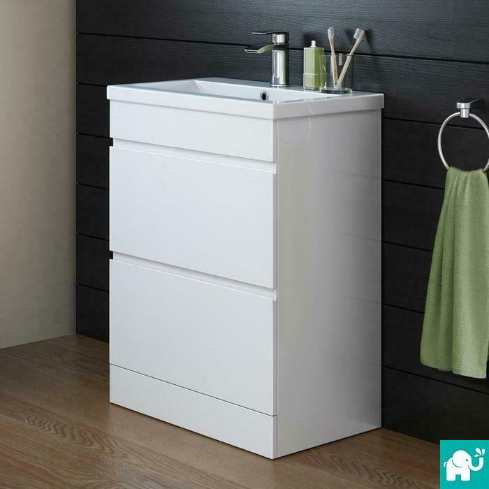 Image Result For White Gloss Vanity Unit And Toilet
