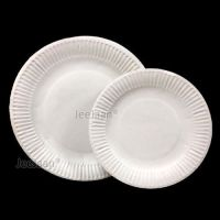 PAPER PLATES DISPOSABLE PARTY SUPPLIES TABLEWARE SERVING ...