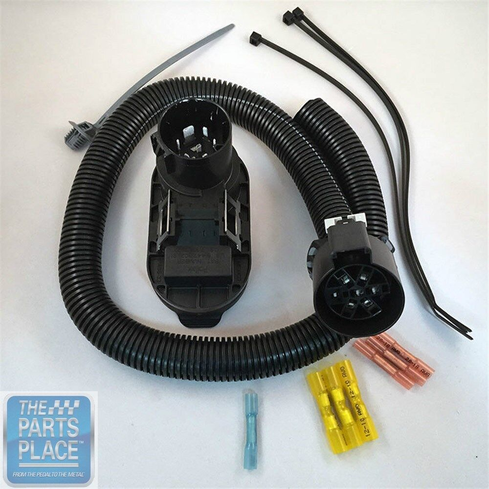 hight resolution of 2015 colorado canyon trailer wiring harness 4 flat gm