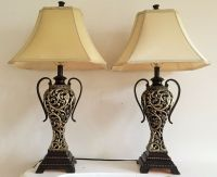 Pair of Table Lamps | eBay