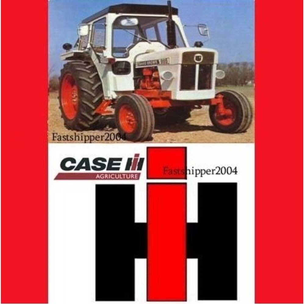 medium resolution of case ih 1896 2090 tractor workshop repair service manual includes wiring schematic includes needed instructions to maintain your using detailed diagrams