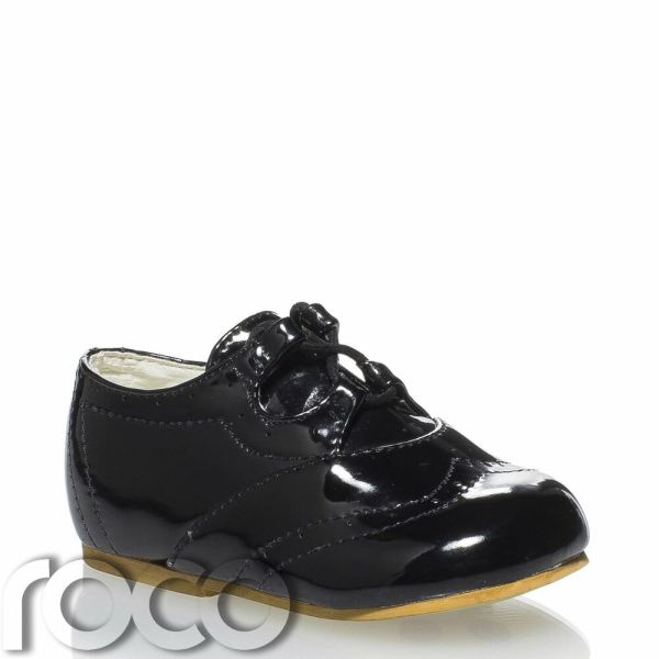 Baby Boys Black Shoes Page Boy Toddler