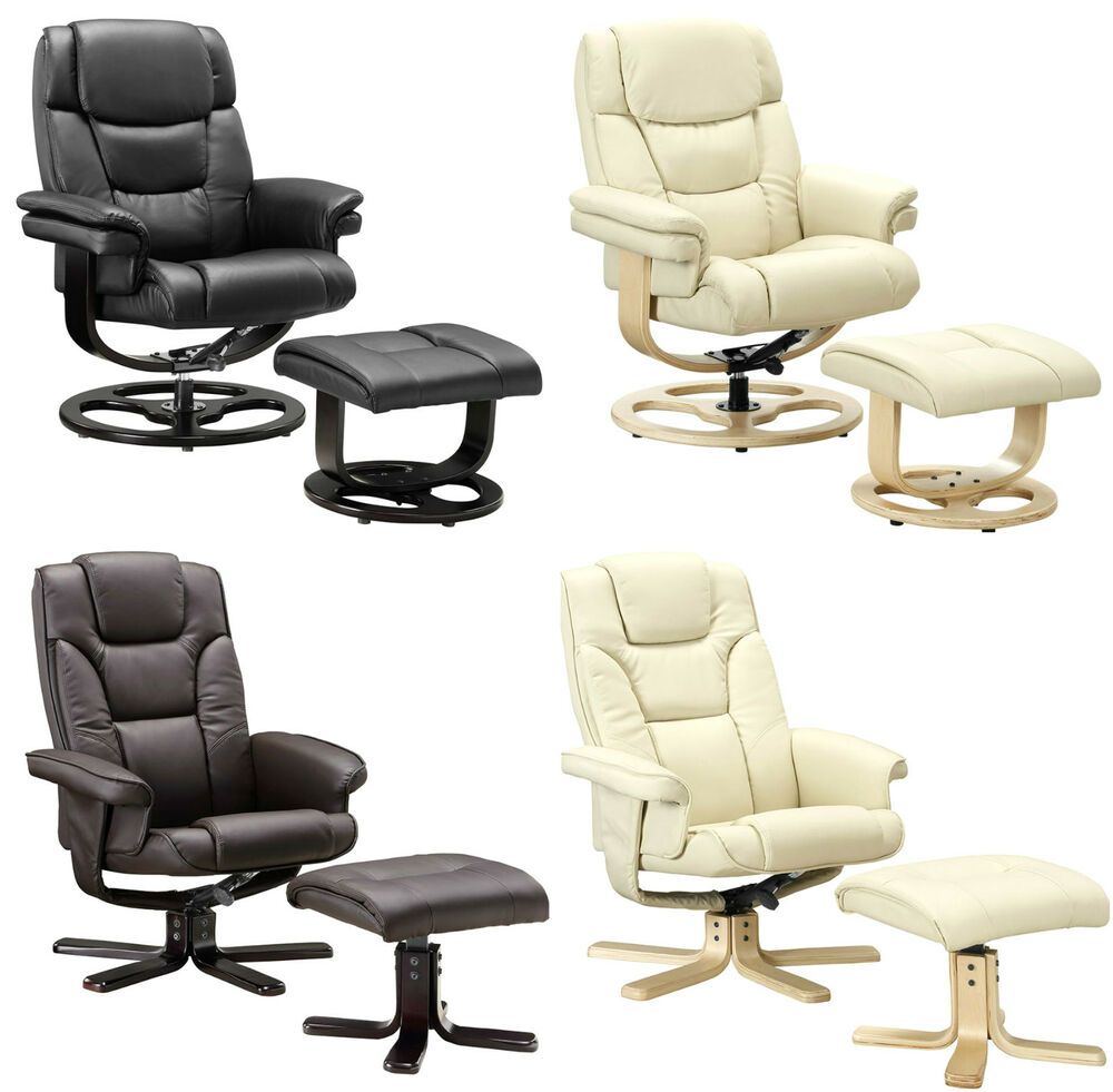cream leather sofa set uk knoll replica manufacturers execuitve recliner chair bonded black brown ...