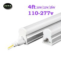 4*4FT 25*1.2m T5 Led Tube Light Bulb Lamp AC 110V-277V ...