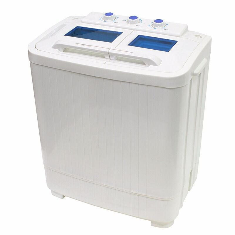 8  9lb Portable Mini Small RV Dorms Compact Washing Machines Spin Dryer Laundry  eBay