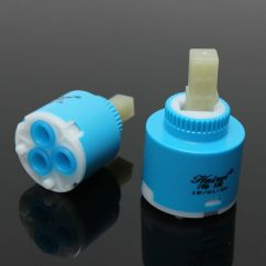 Kitchen Faucet Cartridge Used On Wheels For Sale Blue 35mm/40mm Bathroom Water Mixer Tap ...