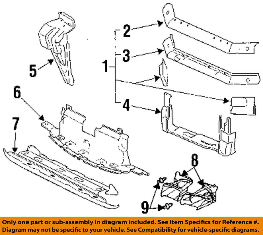 Buick Century Radiator Assembly Parts Schematic Diagram Car Parts