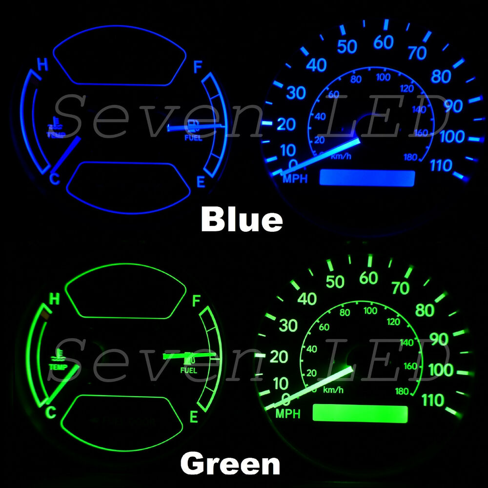 medium resolution of details about replacement cluster led kit 98 02 for toyota corolla or chevy prizm
